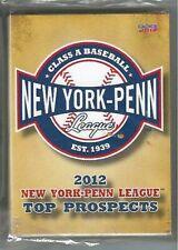 2012 NEW YORK PENN LEAGUE TOP PROSPECTS TEAM SET NYPL   COMPLETE NEW