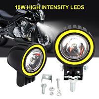 2X 10W LED Arbeitslicht Punktstrahl Auto das Nebelscheinwerfer für LKW-Motorrad