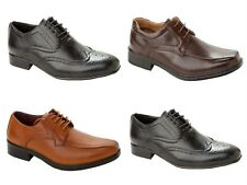 MENS LACE UP SMART WEDDING GENTS SHOES ITALIAN FORMAL OFFICE CASUAL UK SIZE 6-11