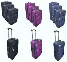 Expandable Unisex Adult Suitcases with Upright (2) Wheels