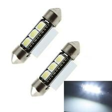 2X 37mm 5050 SMD LED Canbus Car Interior Dome Festoon Light Lamp Bulb White M0D4