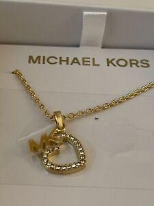 Michael Kors MKJX7776710 Brand New Gold Necklace