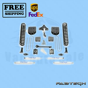 """6"""" Basic System w/ Shocks FABTECH for Ford F350 4WD 2005-07"""