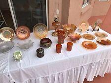 20 PIECE LOT rare antique carnival glass Northwood Fenton Imperial glassware (3A