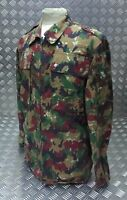 Genuine Military Issued Alpine Camo Lightweight Zip Jacket Multi Camouflage