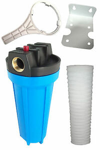 Hard Water Filter Kit Removes Sediment Muck Dirt Or waste vegetable oil filter