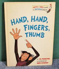 Vintage Book - HAND HAND FINGERS THUMB by Al Perkins Original 1969 First Edition