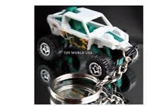 Custom Key Chain ATV 4X4 Rock Crawler white R3CON-G99 graphics