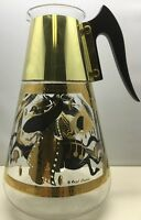 Vintage Mid Century Modern Corning Ware Fred Press Trojan Horse Decanter/Pitcher