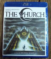 THE CHURCH BLU-RAY Scorpion Releasing reissue horror Michele Soavi Dario Argento