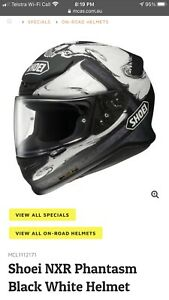 shoei nxr helmet TC-6 Phantasm