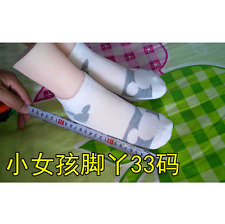 33# female(little girl) Silicone Fake Foot,Inner-Bone Inside,,Feet Model,Shoe