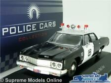CHEVROLET BEL AIR POLICE MODEL CAR 1:43 SCALE IXO ATLAS 7598003 AMERICAN USA K8