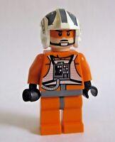 Lego ZEV SENESCA Rebel Pilot Minifigure Star Wars 8083 8089 Hoth