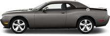 Rear Quarter Stinger Vinyl Graphic Decal Stripes for Dodge Challenger 2015 & Up