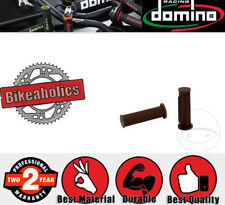Domino Handle Bar Grip Set - 22x130mm - Closed - Vintage