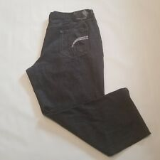 ROCAWEAR 48 X 31 Classic Fit 61-866 Black Jeans Straight Leg