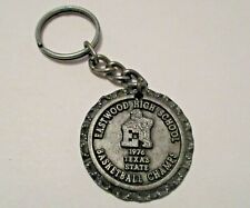 Vintage 1976 Eastwood High School Texas State Basketball Champs Sports Keychain