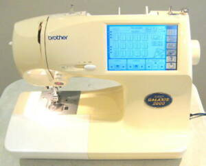 Brother Super Galaxy 2000 Sewing & Embroidery Machine Model- 985 + Accessories