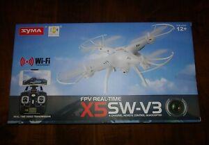 Syma X5SW-V3 White Drone with Camera