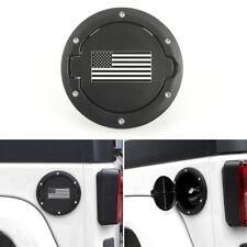 Fuel Filler Door Gas Tank Cap Cover for 07-17 Jeep Wrangler JK Unlimited 2/4Door