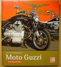 MOTO GUZZI Motorräder seit 1921 Modelle Mandello Geschichte Typen Buch Book Leek
