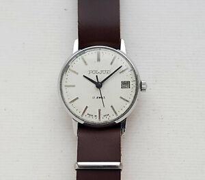 Rare Vintage Soviet watch POLJOT Cal.2609 USSR.