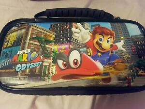 Nintendo Switch Officially Licensed Mario Odyssey Deluxe Travel Case complete