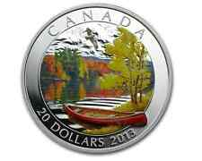 2013 $20 Fine Silver Coin - Autumn Bliss
