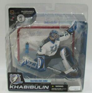 McFarlane Nikolai Khabibulin Tampa Bay White Variant NHL Series 6 Action Figure