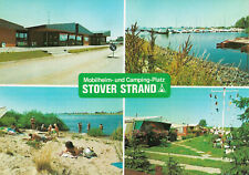 21423 Drage (Elbe)  -  Stover Strand - Mobilheim- und Campingplatz  -  ca.1985