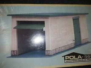 LGB POLA Garage #932 WEATHER PROOF STRUCTURE 1985 New In Box Station Building