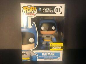 Funko Vinyl Pop! Heroes Batman (Rainbow Blue) Entertainment Earth Exclusive