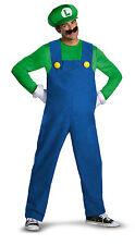 Deluxe Luigi Adult Men's Halloween Costume-XXL ( Fits Jacket Size 50-52 )