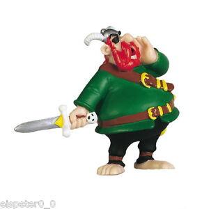 Asterix Figur Piratenchef Rotbart 7 cm, Comic - Film Figur