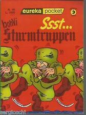 EUREKA POCKET # 48 -BONVI-SSSST ... STURMTRUPPEN -1a EDIZIONE MARZO 1978