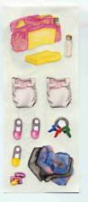 CREATIVE MEMORIES PINK BABY BAG STICKER STRIP BN & NLA