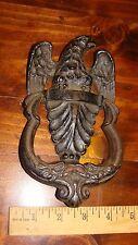 Vintage Cast Iron Eagle Doorknocker Door Knocker
