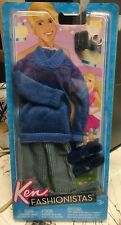 2012 BARBIE - KEN DOLLS FASHIONISTAS - JUMPER/SWEATER AND PANTS - BRAND NEW