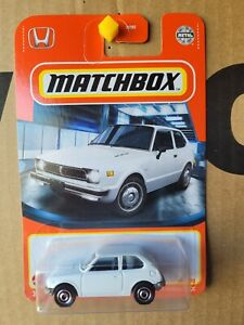 MATCHBOX 2021 - HONDA CIVIC [WHITE] NEAR MINT VHTF CARD GOOD COMBINED POSTAGE