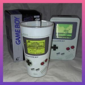 Boxed Nintendo Game Boy Colour Change Glass 400ml + money bank Xmas filler