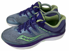 Saucony Guide ISO Purple/Gray Running Shoes Women's Size 8.5