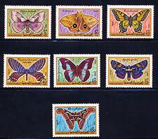 YEMEN 1990 BUTTERFLY SET SCOTT 541-47