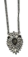 Superb Large Crystal and Diamante Necklace