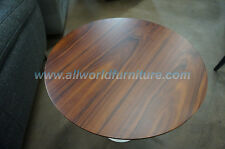 Eero Saarinen Inspired End Table by AEON Furniture - Rosewood PV005 - White Base