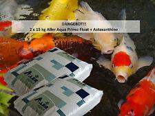 AllerPrimo Float Plus Koi-Premium-Futter Wachstum+Farbe(Astaxanthin) 30 kg, 6mm