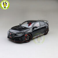 1/18 LCD Honda Civic Type-R Type R Diecast Model Car Toys Gifts Black
