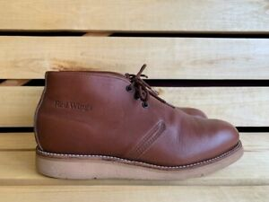 Red Wing Shoes 595 Leather Boots Sz. USA 11.5 D UK10.5