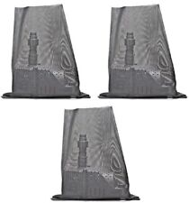 "(3) ea Danner 12315 18"" x 24"" Pond Pump Filter / Barrier Debris Blocking Bags"