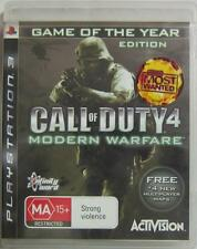 PlayStation 3 PS3 Call Of Duty 4 Modern Warfare Game of the Year Edition